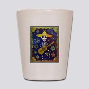 Best Seller Sugar Skull Shot Glass