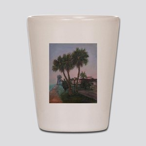 CHRISTMAS IN OLD FLORIDA Shot Glass