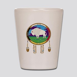 White Buffalo Shot Glass