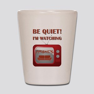 BE QUIET Shot Glass