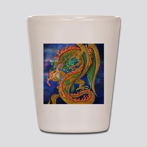 Golden Dragon 16x20 Shot Glass