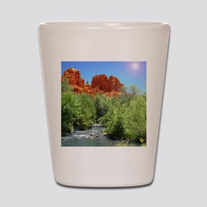 Cathedral Rock Shot Glass