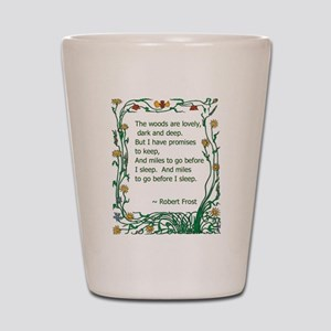 Robert Frost Shot Glass
