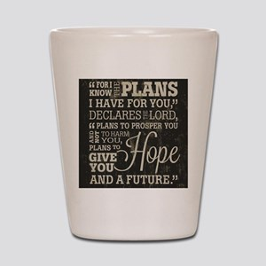 Hope and a Future Shot Glass