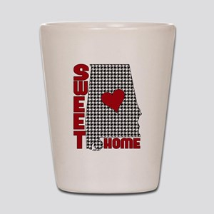 Sweet Home Bama Shot Glass