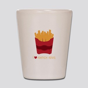 Love French Fries Shot Glass