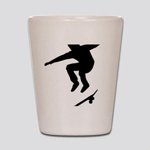 skateboarder Shot Glass