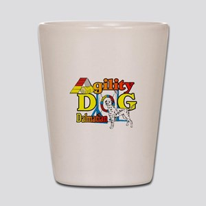 Dalmatian Agility Shot Glass
