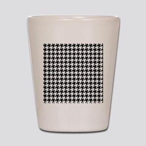 Houndstooth Check Shot Glass