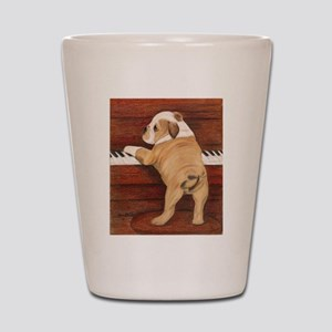 Piano Pup Shot Glass
