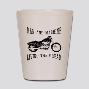 Man & Machine Shot Glass