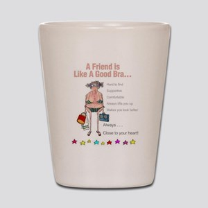 All Humor All The Time Shot Glass