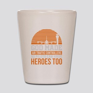Funny Air Traffic Controller Hero Gift Shot Glass