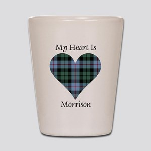 Heart-Morrison Shot Glass