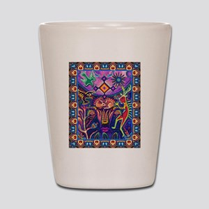 Huichol Dreamtime Shot Glass