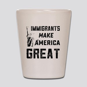 Pro Immigrant Rights Shop Shot Glass