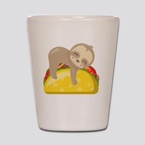 Cute Sloth Taco Shot Glass
