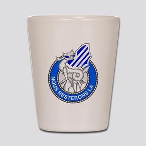 3rd Infantry Division Shot Glass