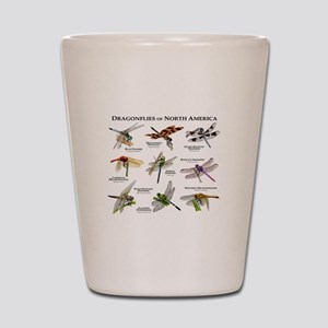 Dragonflies of North America Shot Glass