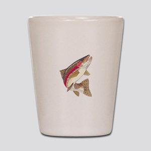 RAINBOW TROUT Shot Glass