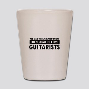 Guitarists Designs Shot Glass