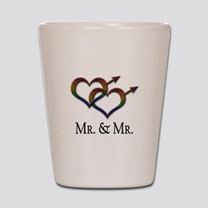 Mr. and Mr. Shot Glass