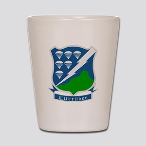 Army-506th-Infantry-WWII-Currahee-Patch Shot Glass