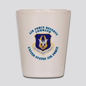 Air-Force-Reserve-Cmdwtxt Shot Glass