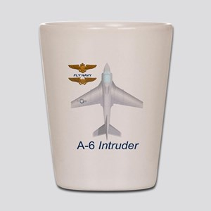 A-6 Intruder Shot Shot Glass