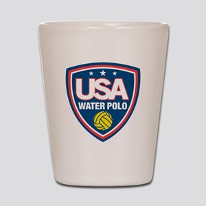water polo Shot Glass