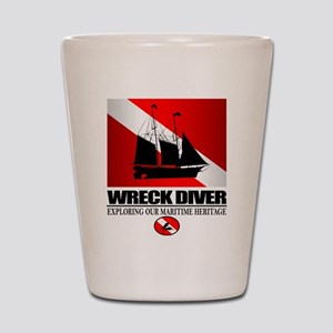 Wreck Diver (Ship) 2 Shot Glass