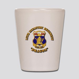 15th Infantry Regt - Dragon Shot Glass