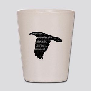 The Raven - Edgar Allan Poe Shot Glass