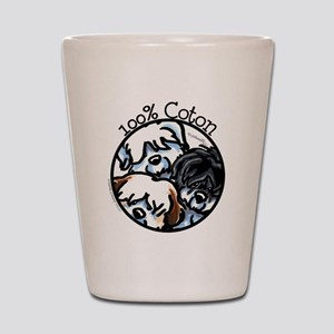 100% Coton Shot Glass
