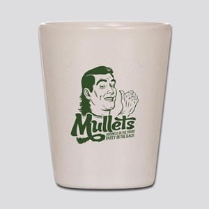 Mullets Shot Glass