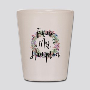 Future Mrs. Hampton Engaged Bridal Shot Glass