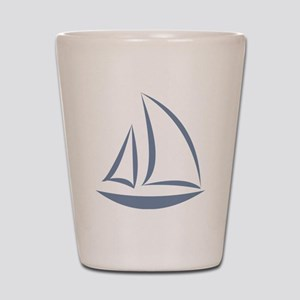segeln Shot Glass