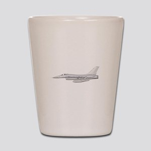 F-16 Fighting Falcon Shot Glass