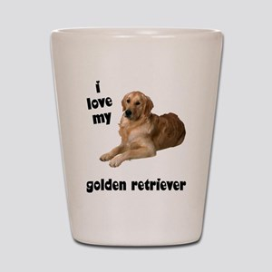 Golden Retriever Lover Shot Glass