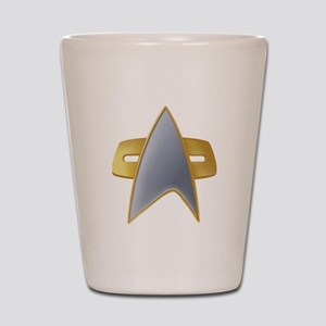 VOY Starfleet Insignia Shot Glass