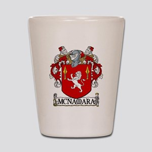 McNamara Coat of Arms Shot Glass