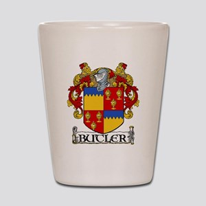 Butler Coat of Arms Shot Glass