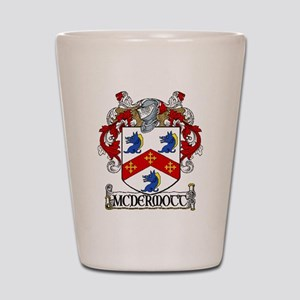 McDermott Coat of Arms Shot Glass