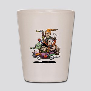 GOP Clown Car '16 Shot Glass