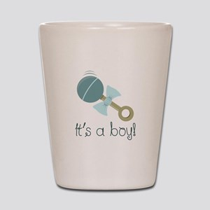 Its A Boy! Shot Glass