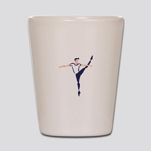 Male Dancer Shot Glass