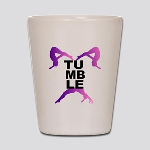 Tumbling Girls Shot Glass