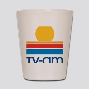 tvam logo Shot Glass