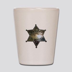 Mayberry Deputy Badge Shot Glass