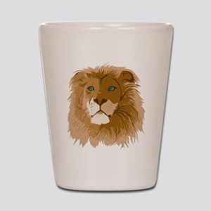 Realistic Lion Shot Glass